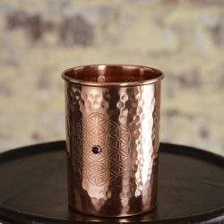Ayurveda Wellness Copper Cup 1 Crystal